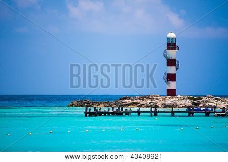 Lighthouse in Cancun