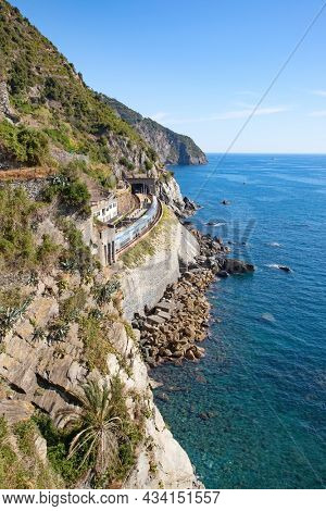 Cinque Terre, national park and historical region in Liguria, Italy