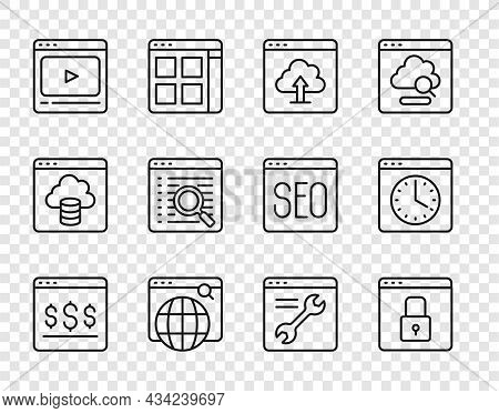 Set Line Online Shopping On Screen, Secure Your Site With Https, Ssl, Cloud Upload, Search Engine, P