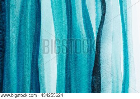 Ombre blue watercolor background abstract style