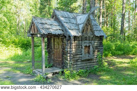 Hut On Chicken Legs, The Dwelling Of Baba-yaga In Russian Fairy Tales