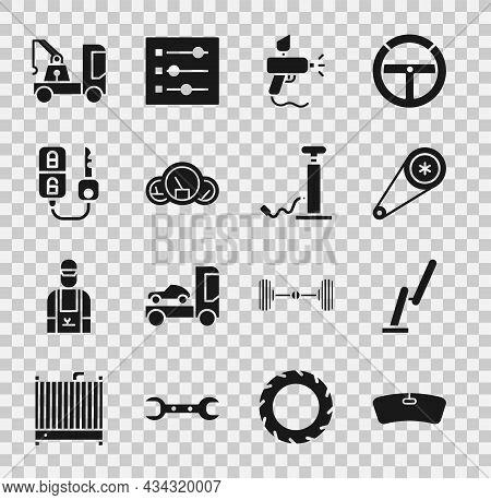 Set Windshield, Windscreen Wiper, Timing Belt Kit, Paint Spray Gun, Speedometer, Car Key With Remote