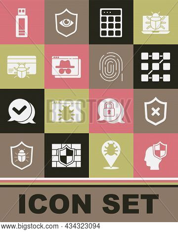 Set Head With Shield, Shield Cross Mark, Graphic Password Protection, Password, Browser Incognito Wi