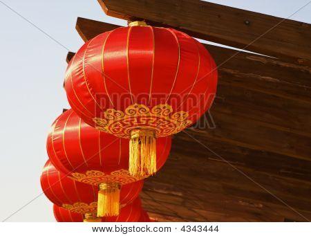 Chinese Lanterns Close Up