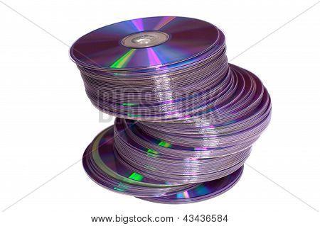 Discs Pile