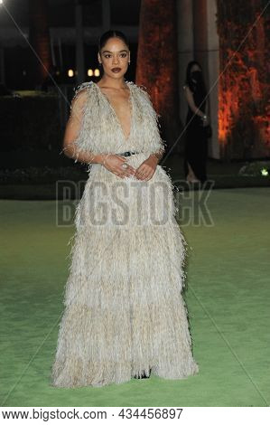 Tessa Thompson at the Academy Museum of Motion Pictures Opening Gala held at the Academy Museum of Motion Pictures in Los Angeles, USA on September 25, 2021.