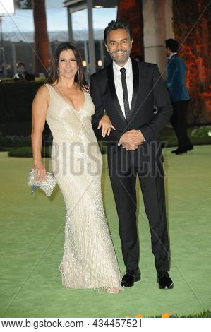 Eugenio Derbez and Alessandra Rosaldo at the Academy Museum of Motion Pictures Opening Gala held at the Academy Museum of Motion Pictures in Los Angeles, USA on September 25, 2021.