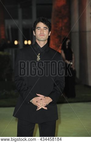 Darren Criss at the Academy Museum of Motion Pictures Opening Gala held at the Academy Museum of Motion Pictures in Los Angeles, USA on September 25, 2021.