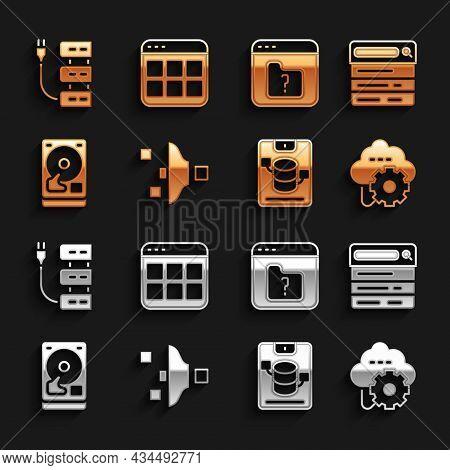 Set Filter Setting, Search Engine, Cloud Technology Data Transfer, Server, Data, Web Hosting, Hard D