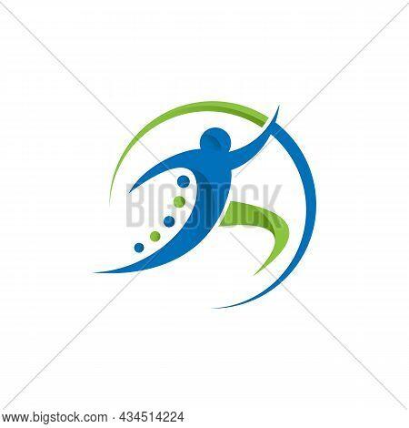 Physical Therapy Logo Design Concept