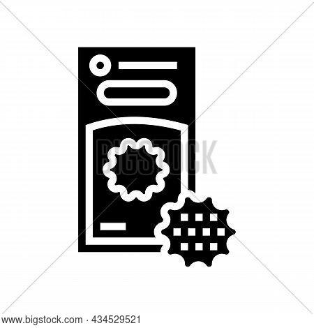 Laundry Balls Glyph Icon Vector. Laundry Balls Sign. Isolated Contour Symbol Black Illustration