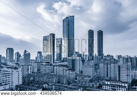 Observation Urban Building Business Steel Background City