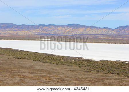 Dry Salt Lakebed