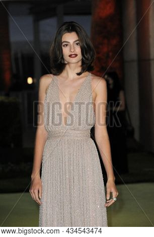 Diana Silvers at the Academy Museum of Motion Pictures Opening Gala held in Los Angeles, USA on September 25, 2021.