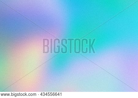 Abstract Pastel Holographic Blurred Grainy Gradient Background