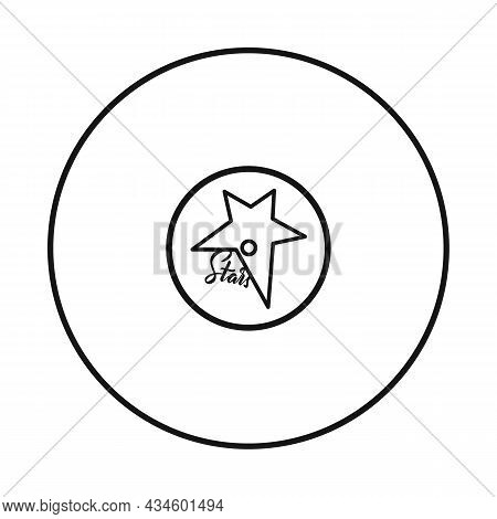 Isolated Object Of Disk And Plate Logo. Graphic Of Disk And Soundtrack Vector Icon For Stock.