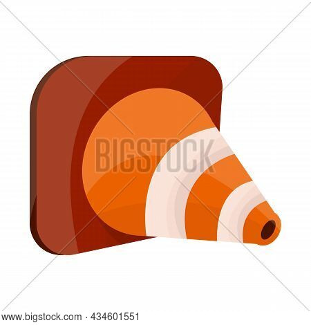 Isolated Object Of Roadwork And Road Logo. Web Element Of Roadwork And Cone Stock Vector Illustratio