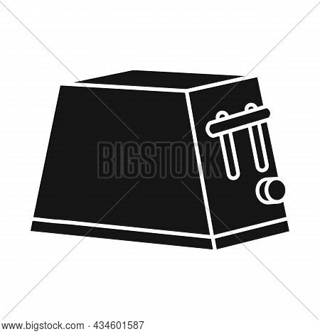 Vector Design Of Toaster And Instrument Sign. Web Element Of Toaster And Electrical Vector Icon For