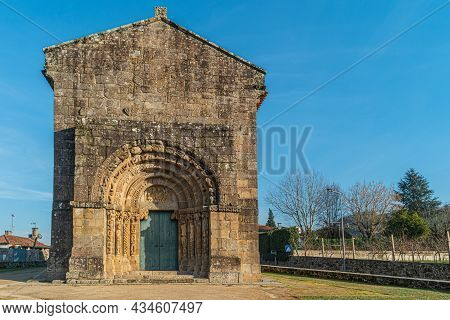 Monastery Of Bravaes In Ponte Da Barca, North Of Portugal. Former Benedictine Monastery That At The