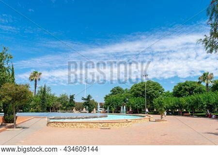 Garden Of The Nations Park In Torrevieja. Alicante, On The Costa Blanca. Spain Europe.