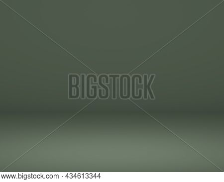 Modern Studio Background . Abstract Gray Coral Gradient Background Empty Space Studio Room For Displ