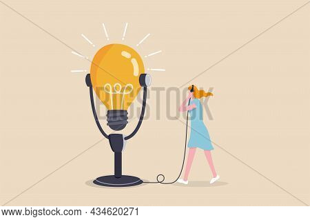 Motivation Podcast, Listen To Inspiration Idea For Self Improvement And Career Development, Success