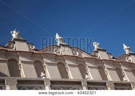 Gragoyles On Cloth Hall, Krakow
