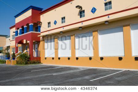 Modern Storage Warehouse Building