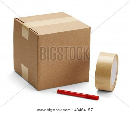 Cardboard Box And Packaging