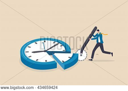 Time Allocation, Manage Limited Time To Optimize Outcome, Project Management Or Efficiency And Produ