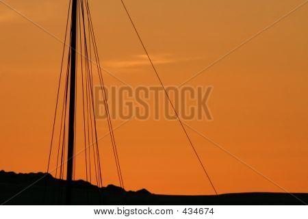 Sunset Mast