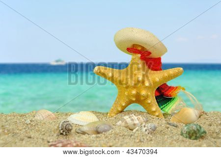 Starfish With Sombrero