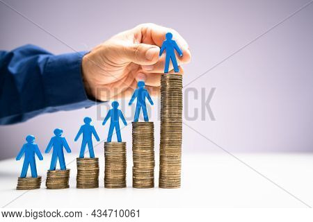 Minimum Wage And Salary Increase. Insurance Compensation And Profit