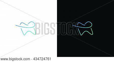 Modern And Unique Dental And Dental Implant Logo Design 6