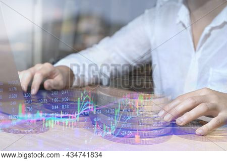 Accountant Using Calculator, Counting, Finance, Taxes, Fees, Accounting, Calculating, Bills, Money,