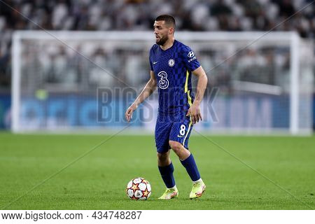 Torino, Italy. 29 September 2021. Mateo Kovacic Of Chelsea Fc  During The  Uefa Champions League Gro
