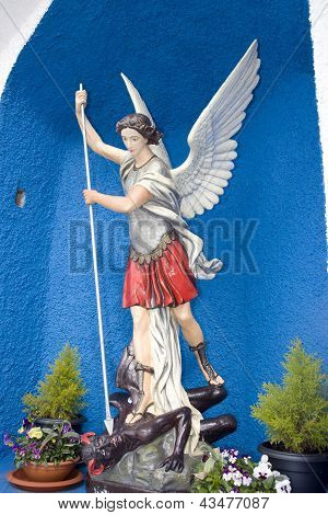 Saint Michael Slaying The Devil