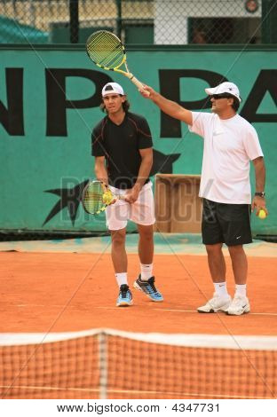 Rafael Nadal And Tony Nadal