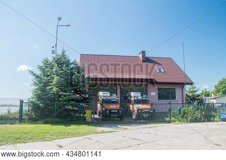 Gdansk, Poland - July 11, 2021: Station Of Sea Rescue Station, Maritime Search And Rescue Service.