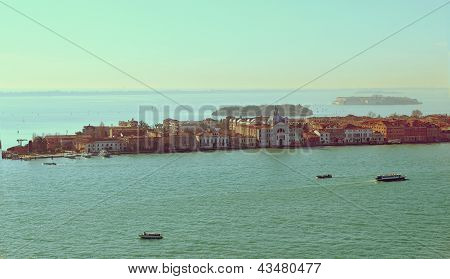 Beautiful Water Street - Gulf Of Venice, Italy