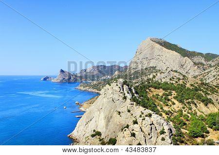 Mountains & Sea Landscape