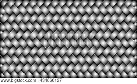 Metallic Woven Texture. Herringbone Pattern Background.cover Layout Template.