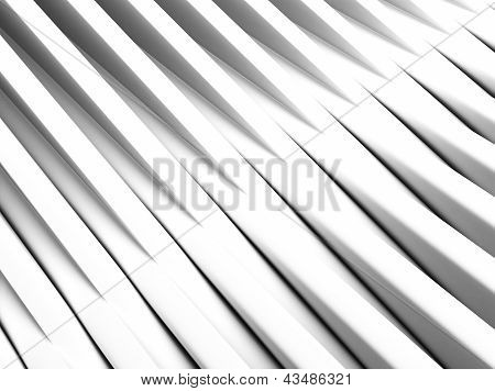 Industrial White Background With Cross Bars