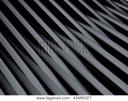 Industrial Metallic Background With Cross Bars