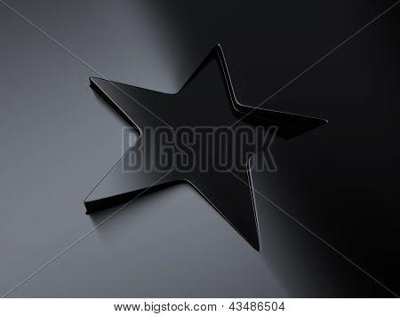 Metallic Star Background