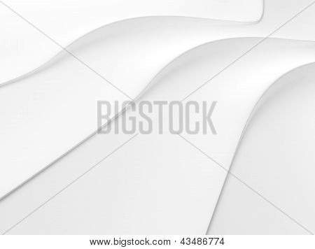 Elegant White Background With Lines