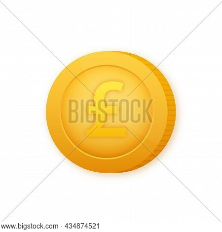 Lira Coin, Great Design For Any Purposes. Flat Style Vector Illustration. Currency Icon.