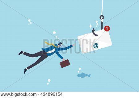 Phishing Email, Fraud Or Scam Mail Offer Fake Login Or Password Form To Steal Personal Information,