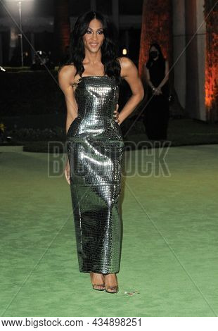 MJ Rodriguez at the Academy Museum of Motion Pictures Opening Gala held in Los Angeles, USA on September 25, 2021.