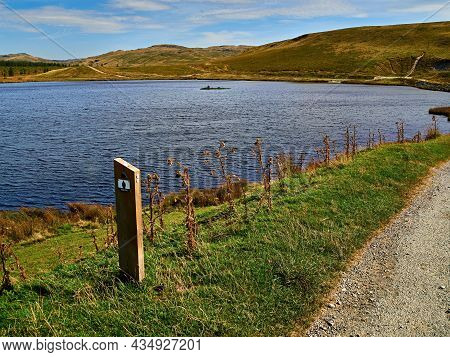 Llyn Syfydrin Where The Black Graded Syfydrin Mtb Trail Out Of The Nant Yr Arian Visitor Centre Gets